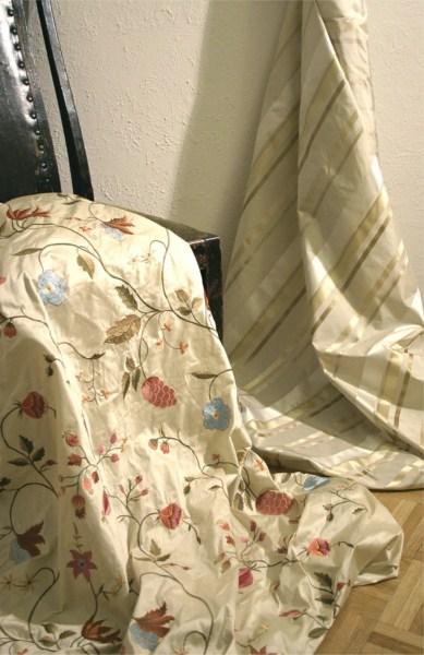 Ткань для штор вышивка 87